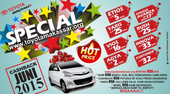 Promo Toyota Makassar Juni 2015